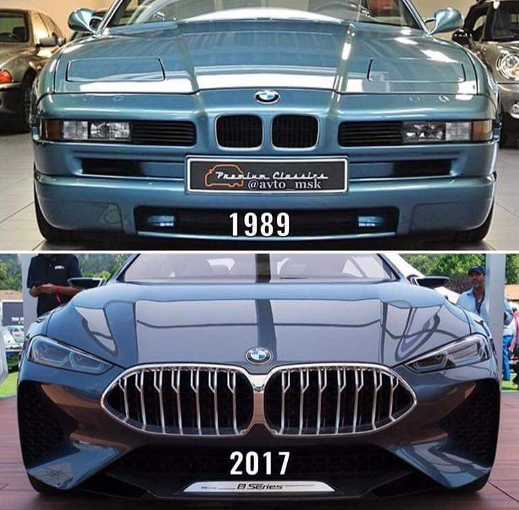 Old Or New Original 8 Series Front End Vs New Concept 8 Series Front End