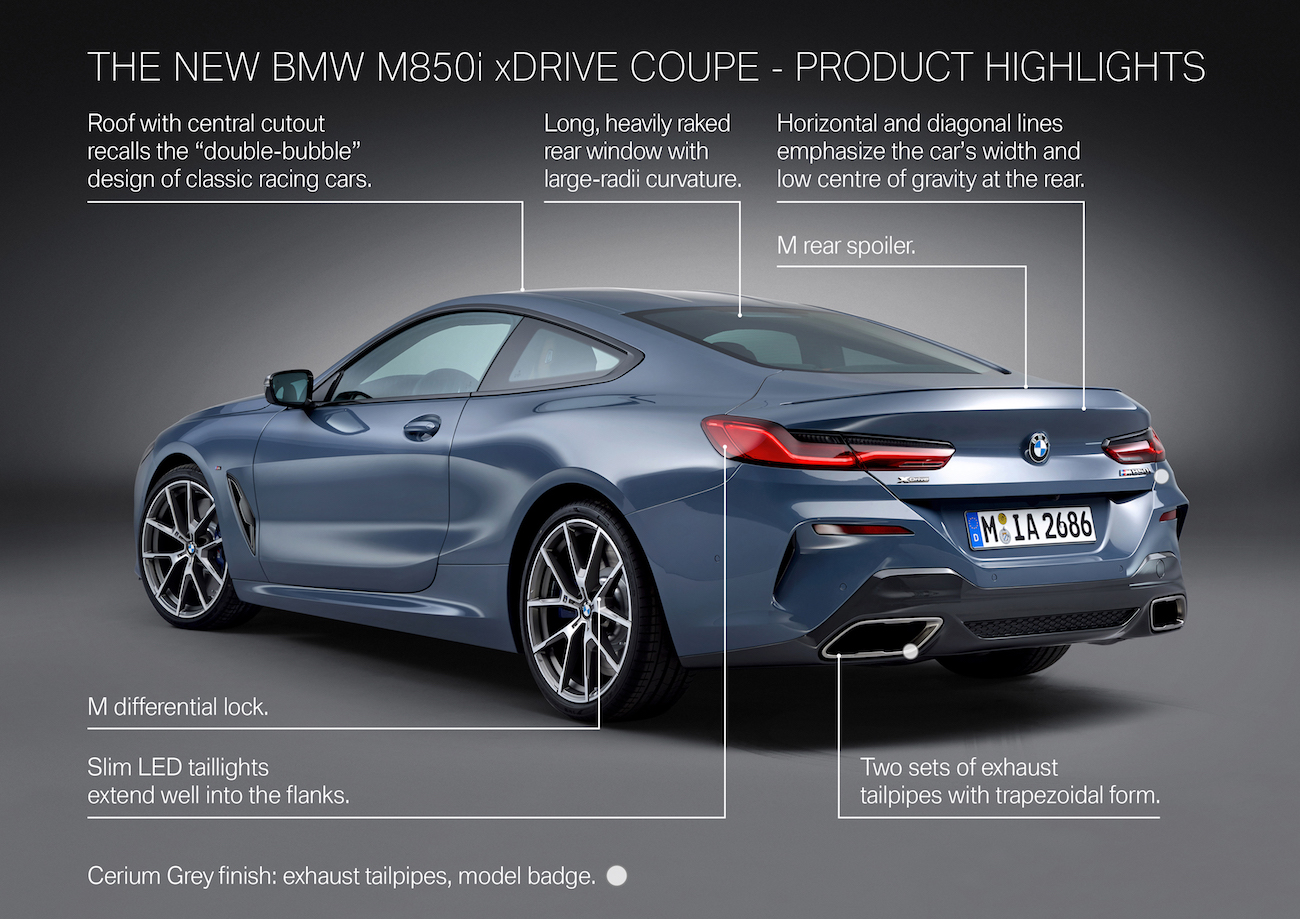 2019 Bmw 8 Series M850i Official Thread Information Specs