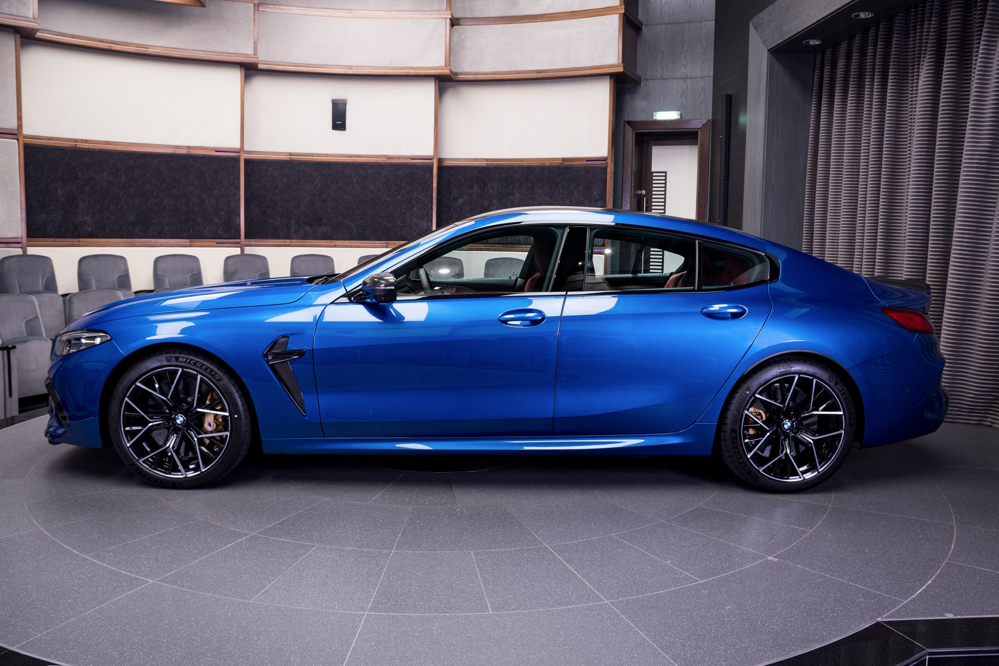 Name:  Sonic Speed Blue BMW M8 Competition Gran Coupe 6.jpg Views: 8722 Size:  465.1 KB
