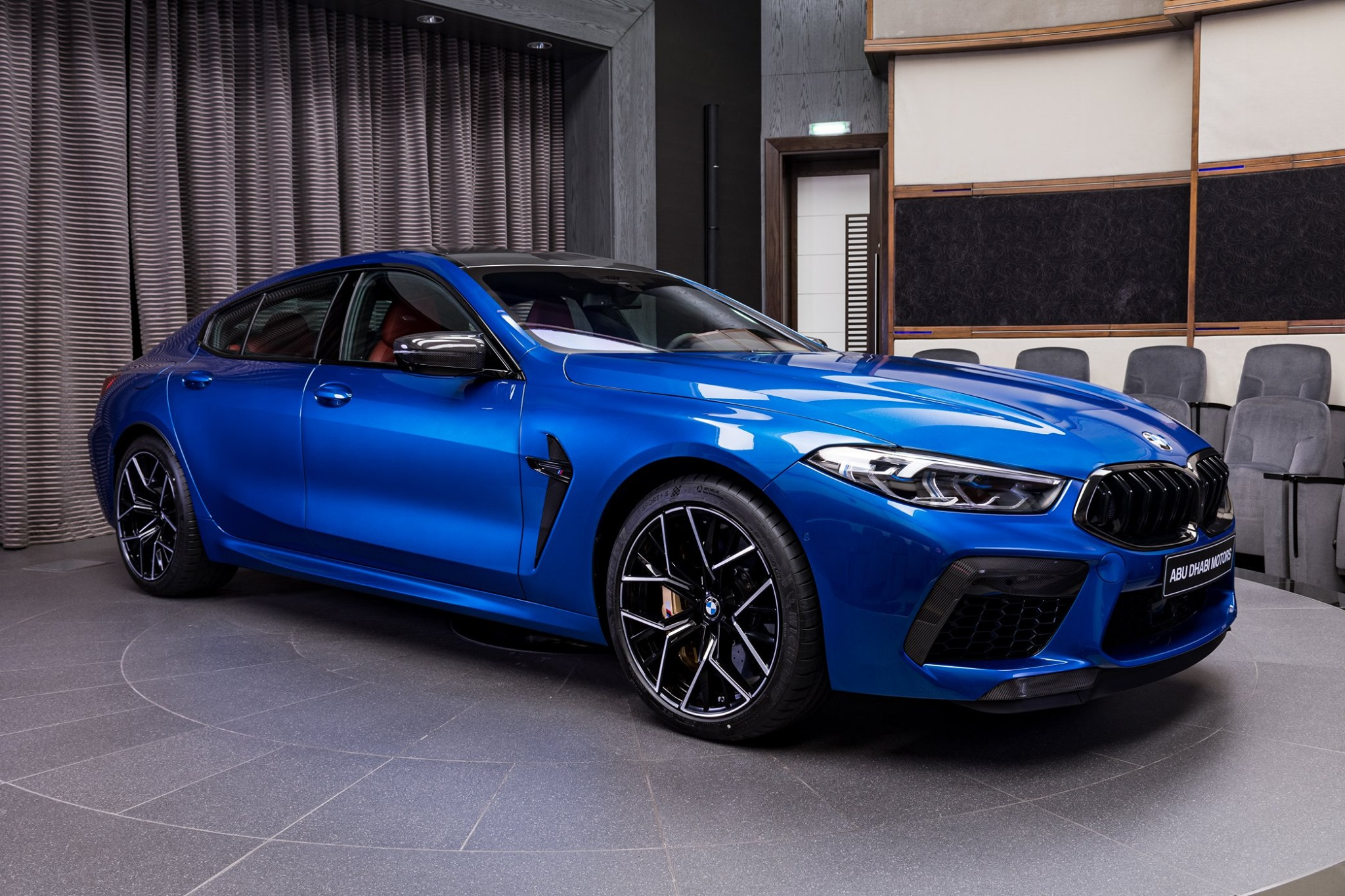 Name:  Sonic Speed Blue BMW M8 Competition Gran Coupe 3.jpg Views: 9172 Size:  677.0 KB