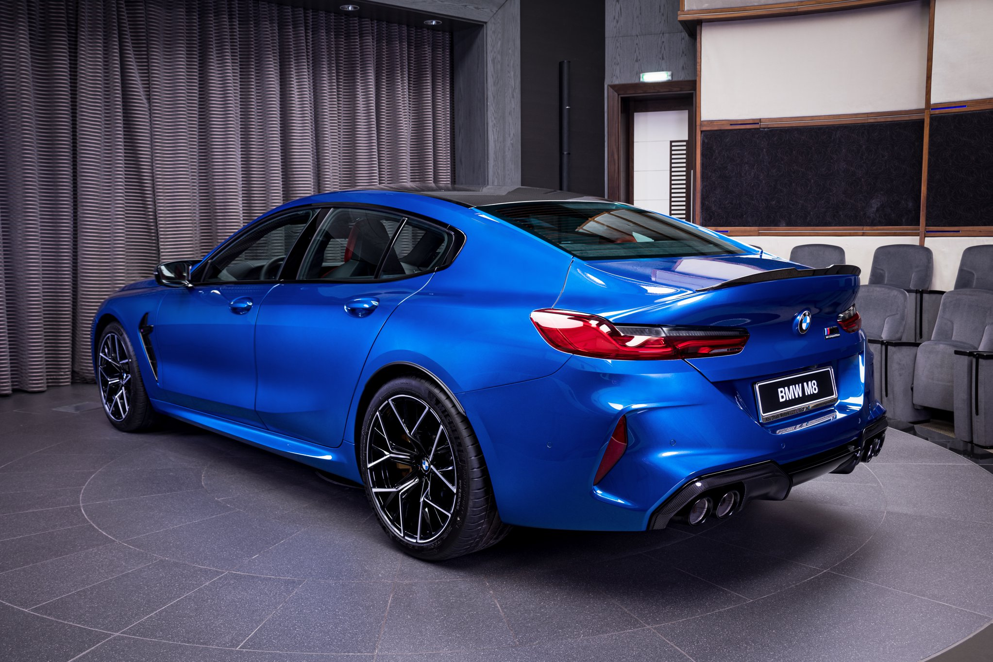 Name:  Sonic Speed Blue BMW M8 Competition Gran Coupe 4.jpg Views: 9205 Size:  501.5 KB