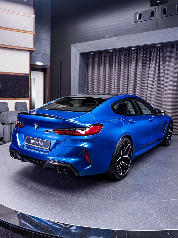 Name:  Sonic Speed Blue BMW M8 Competition Gran Coupe 7.jpg Views: 8900 Size:  127.8 KB