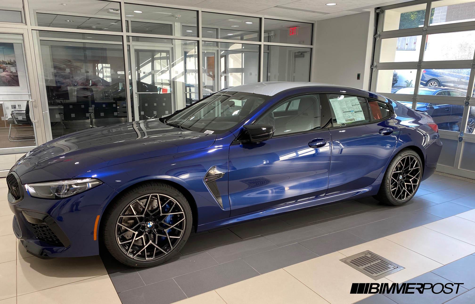 Name:  BMW Centennial Blue M8 Gran Coupe 1.jpg Views: 8972 Size:  322.2 KB
